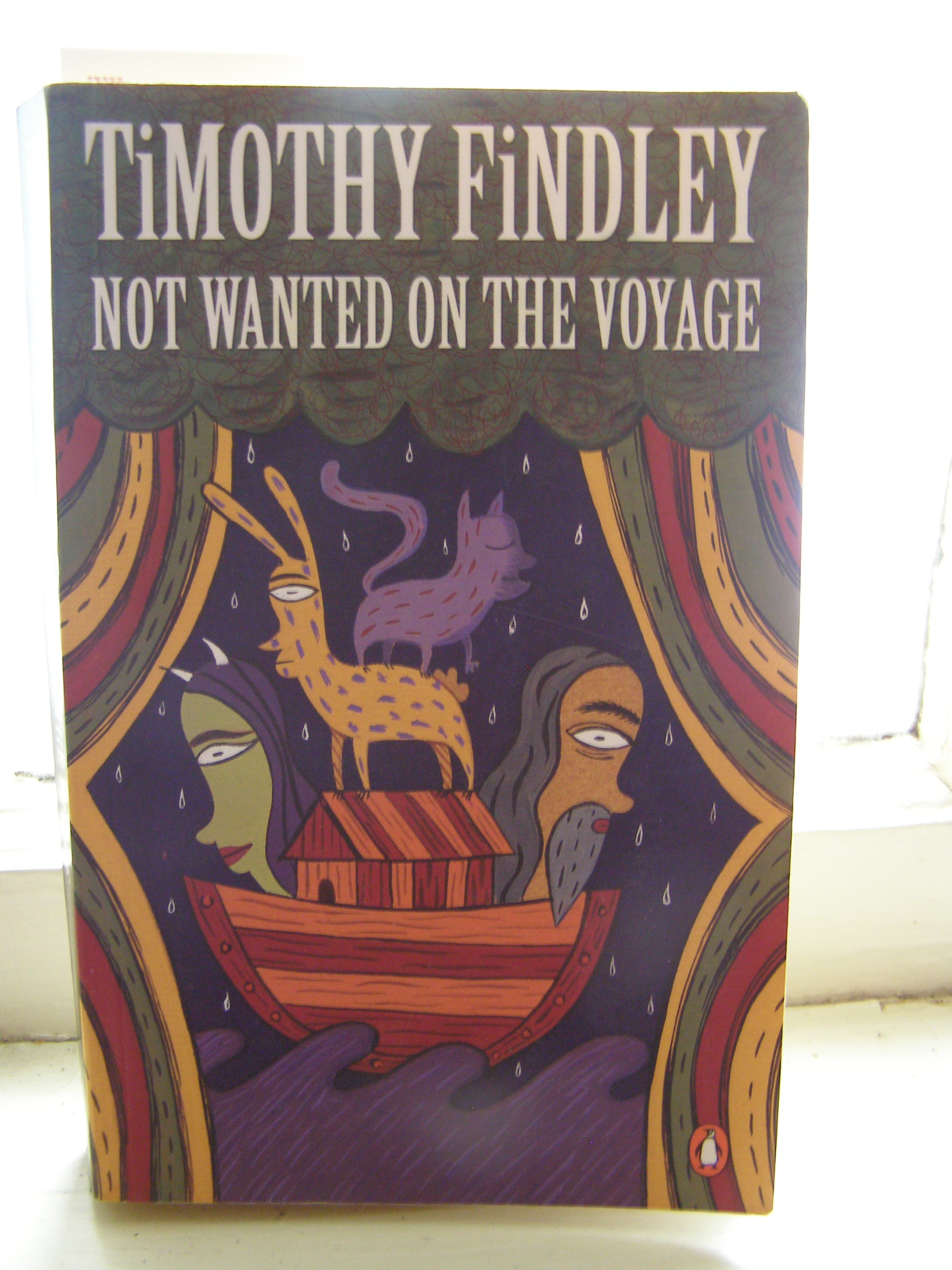 Timothy findleys novel not wanted on the voyage essay