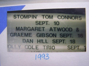 No, I didn't go see Margaret Atwood 6 days later. Grr.
