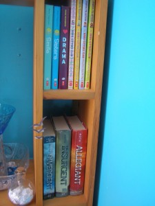 Raina Telgemeier and the Divergent series.