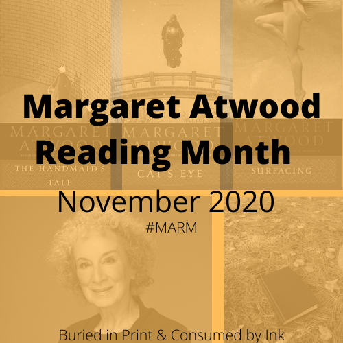 Announcing Margaret Atwood Reading Month: November 2020 #MARM
